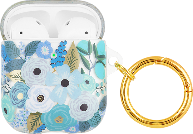 Rifle Paper Co. Garden Party Blue Case - AirPods 2/1 - Garden Party Blue