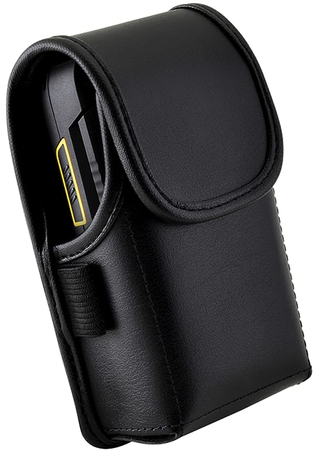 Sonim Leather Pouch with Metal Clip - Sonim XP3 - Black
