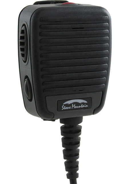 Stone Mountain Phoenix Remote Speaker Microphone - XP5s and XP8 - Black
