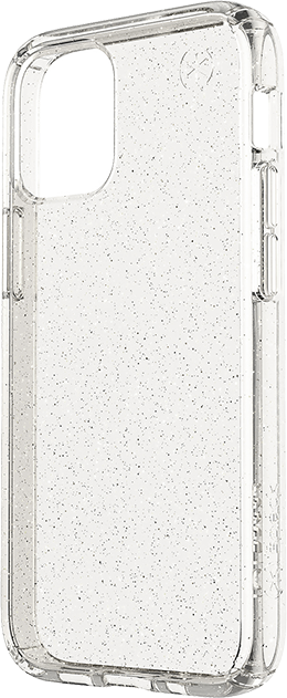 Speck Presidio Perfect-Clear Glitter Case - iPhone 12 Pro Max - Clear