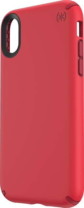 Speck Presidio Pro Case - iPhone XR - Heartrate Red / Vermillion Red