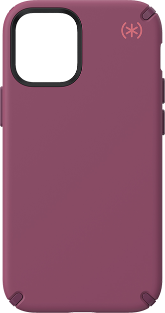 Speck Presidio2 Pro Case - iPhone 12 mini - Lush Burgundy