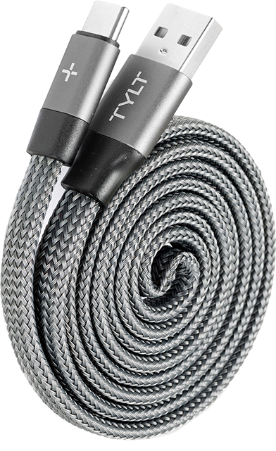 Tylt Twirl USB-C Charge and Sync Cable