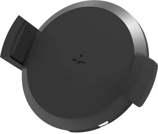 Tylt Venti 10W Vent Wireless Charger - Black