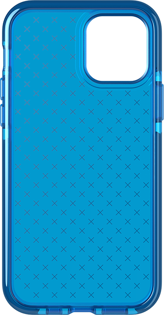 Tech21 Evo Check Case - iPhone 12/12 Pro - Blue