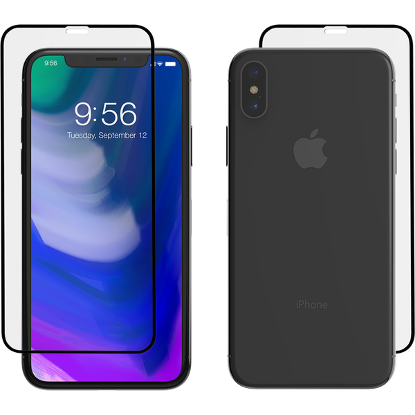 designer fashion 6120a 139a8 Zagg InvisibleShield Glass + Luxe Screen Protector - iPhone X