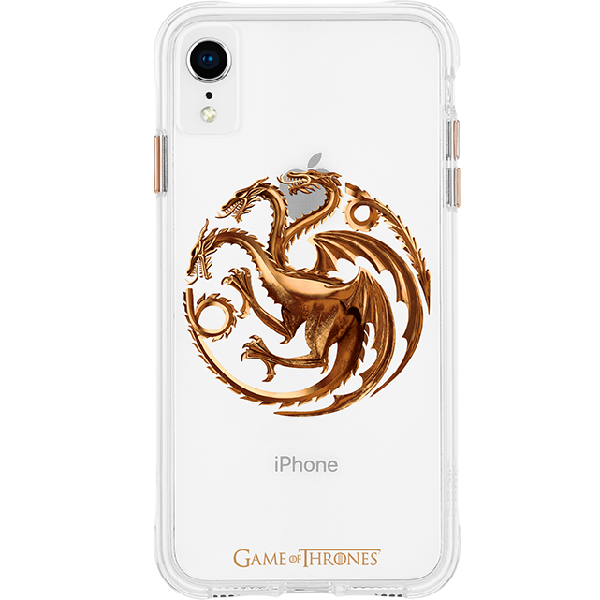competitive price fbc65 aeac8 Case-Mate Game of Thrones House Targaryen Sigil Case - iPhone XR