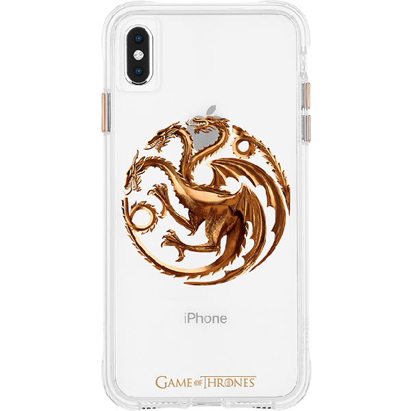quality design db568 4d656 Case-Mate Game of Thrones House Targaryen Sigil Case - iPhone XS Max