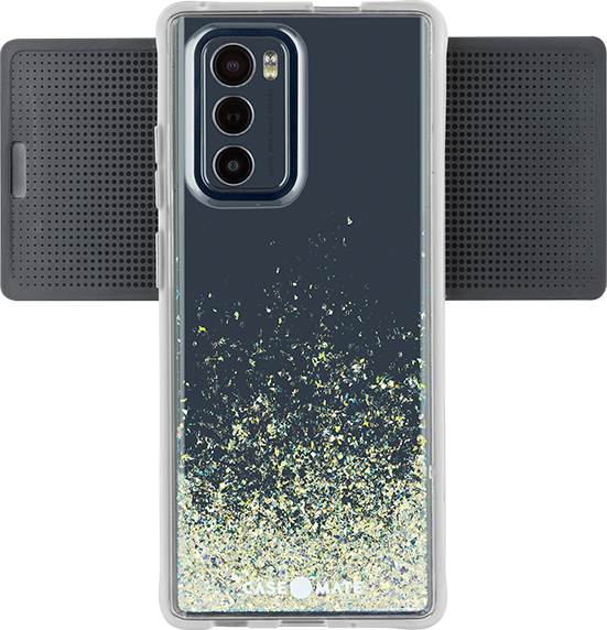 Twinkle Ombre Tough Plus Case - LG Wing - Stardust
