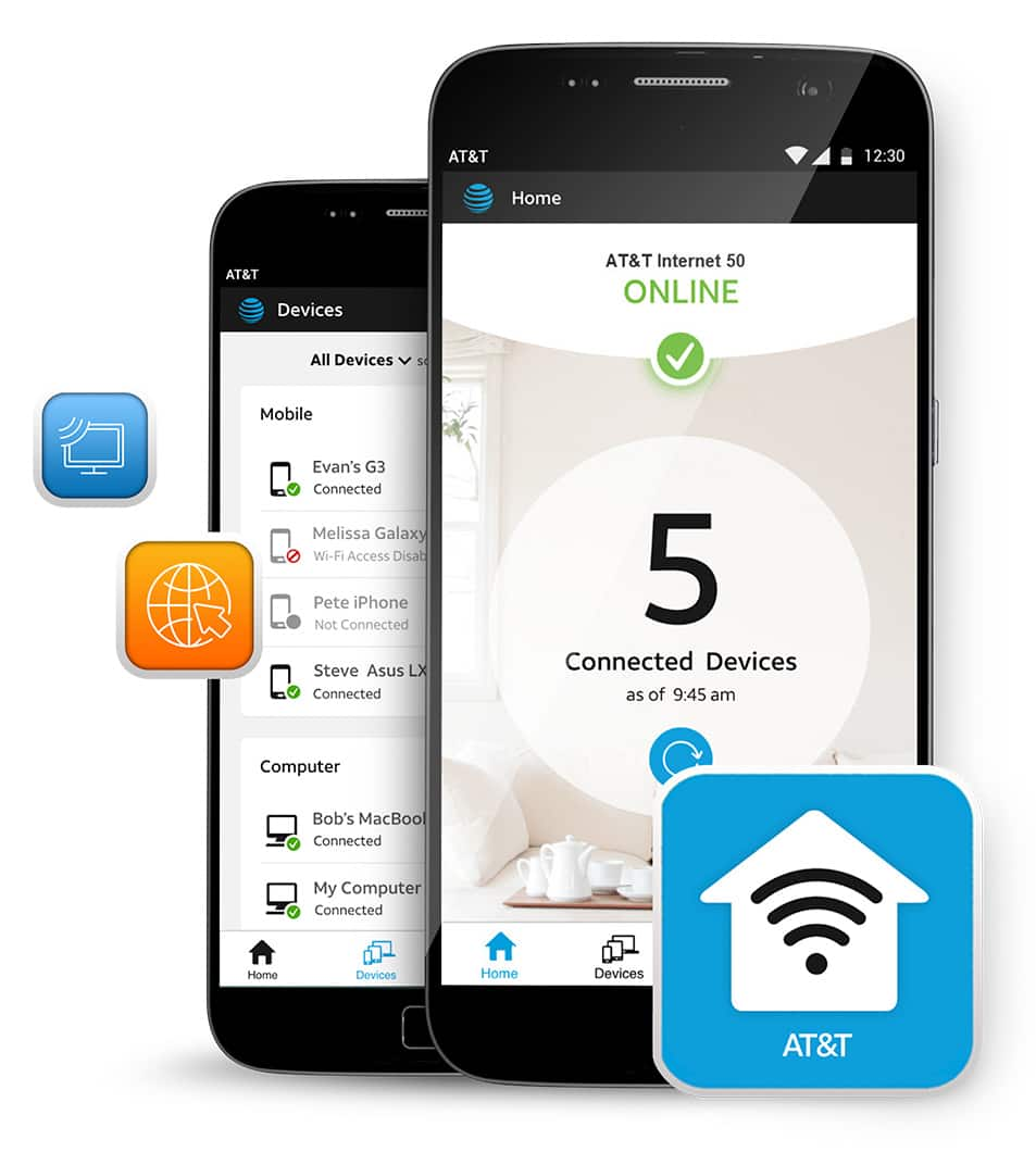 AT&T Smart Wi-Fi Extender for Gateway Models 5268AC, BGW210, or ...
