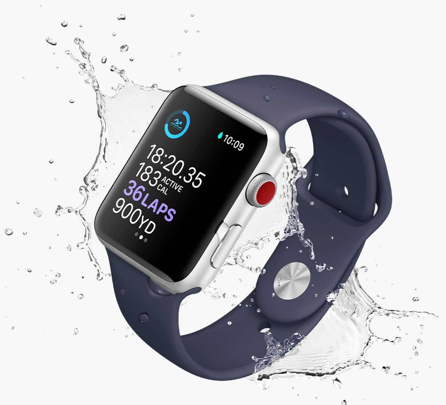 apple watch series 3 nike 42mm price reviews at t. Black Bedroom Furniture Sets. Home Design Ideas