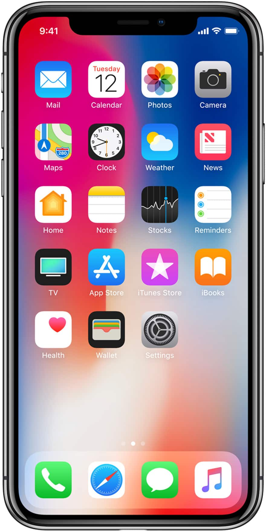 iphone x lifestyle image