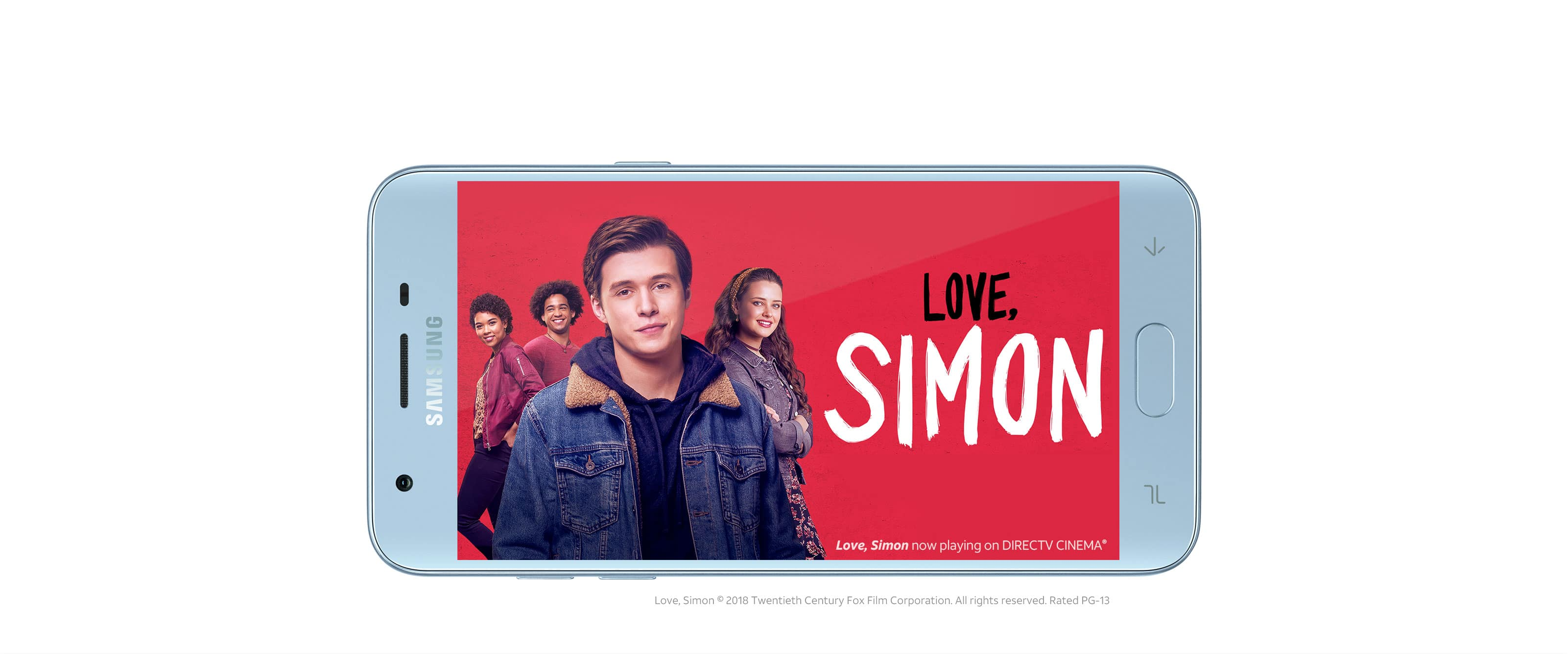 Love, Simon now playing on DIRECTV CINEMA®. Love, Simon © 2018 Twentieth Century Fox Film Corporation. All rights reserved. Rated PG-13.