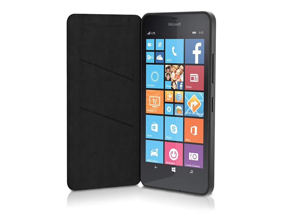 Microsoft Flip Folio case for Microsoft Lumia 640 XL - AT&T
