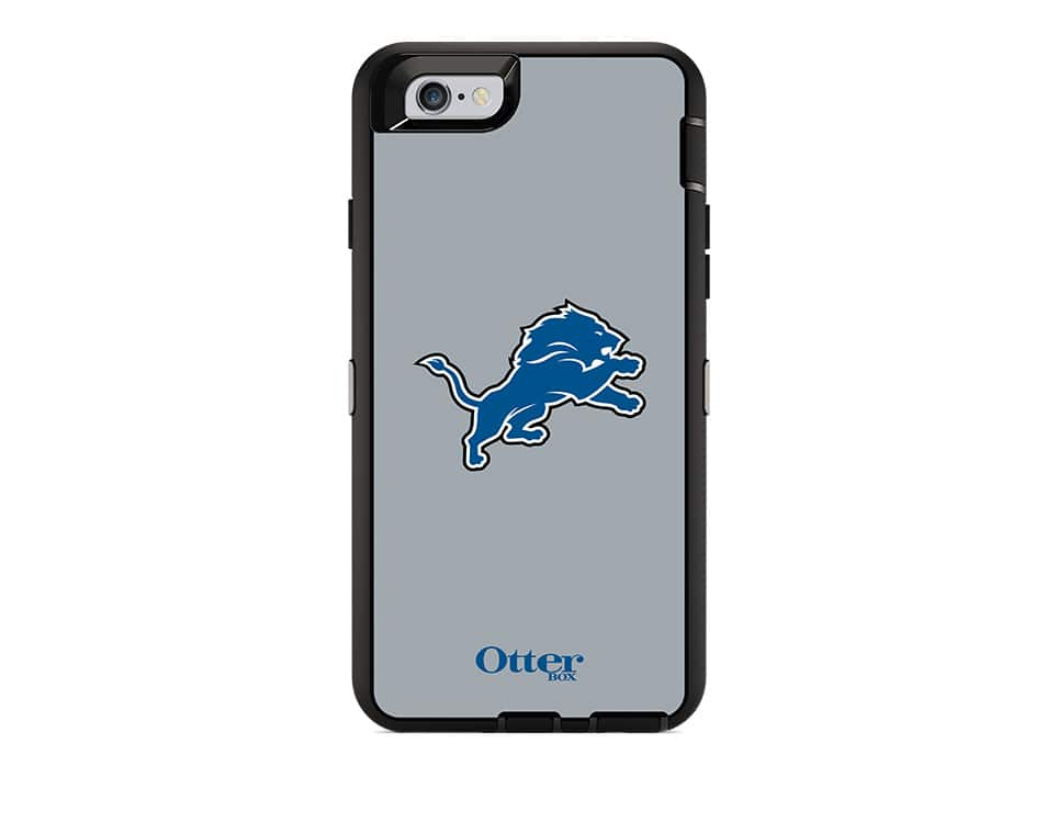 quality design 5d33e 219ea OtterBox Defender Series NFL Detroit Lions Case and Holster for ...