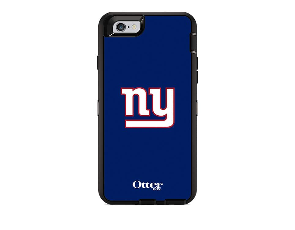 buy online c5fe4 b35bc OtterBox Defender Series NFL New York Giants Case and Holster for ...