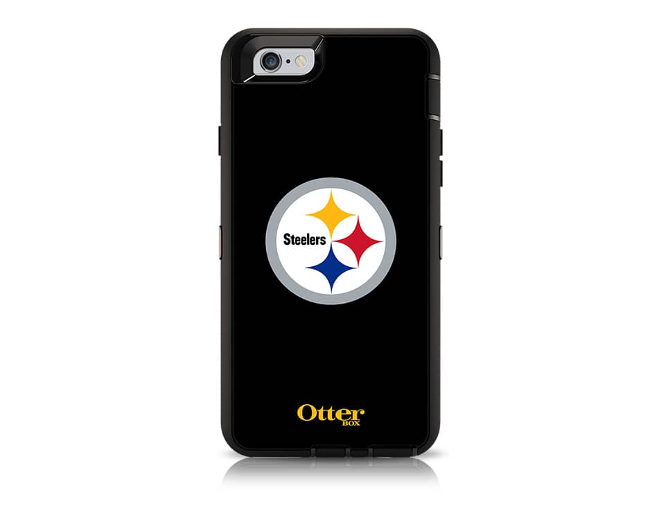 finest selection 7df8e cf5e7 OtterBox Defender Series NFL Pittsburgh Steelers Case and Holster ...