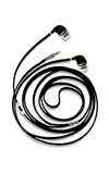 QuikCell Corded Earphones Black