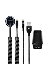 AT&T Power Bundle (Wall/Car/Braided Lightning Cable)