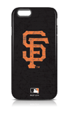Skinit San Francisco Giants Black Distressed Case - iPhone 6/6s