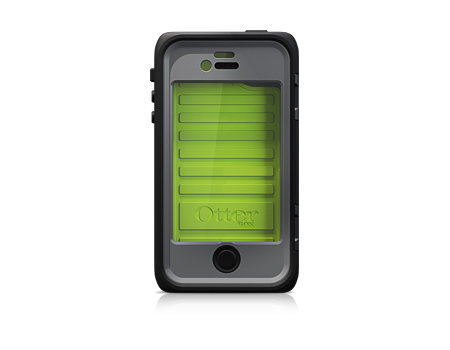 OtterBox® Black/Green Armor Series - iPhone® 4S