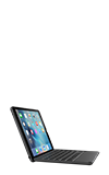 Zagg Backlit Hinged Fabric Folio Keyboard - iPad Pro 9.7-inch