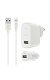 Belkin Metallic Bundle (Car/Lightning Braided Cable)
