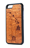 Sonix Pono Wood Hawaiian Islands Case - iPhone 6/6s