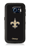 OtterBox Defender Series NFL New Orleans Saints Case and Holster - Samsung Galaxy S6