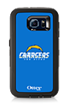 OtterBox Defender Series NFL San Diego Chargers Case and Holster - Samsung Galaxy S6