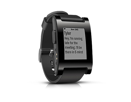 Pebble smart watch for iphone and android for Pebble watches