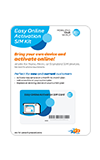 AT&T Easy Online Activation SIM Kit (Postpaid)