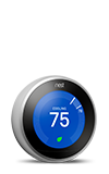 Nest Learning Thermostat - Silver