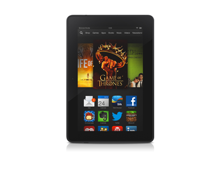 Amazon-Kindle Fire HDX 7-Black