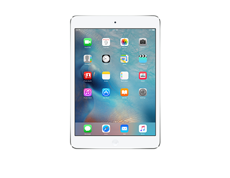 Apple-iPad mini with Retina display with Wi-Fi + Cellular 16GB-Silver