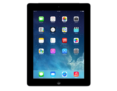 Apple-iPad with Retina display Wi-Fi + Cellular 16GB-Black