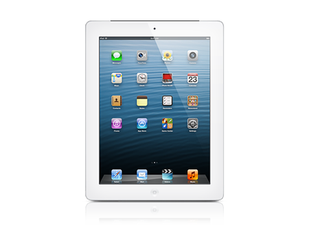 Apple iPad with Retina display Wi-Fi + Cellular 64GB - White