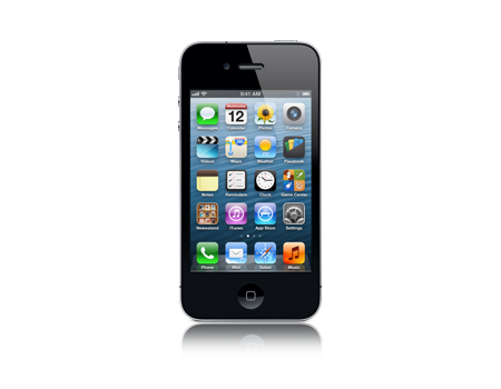 Apple-iPhone 4 - 8 GB-black