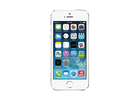 Apple-iPhone 5s - 16GB GoPhone-Silver
