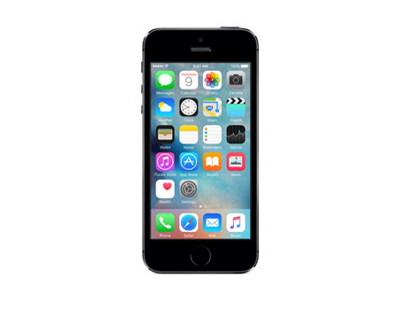 Apple-iPhone 5s - 16GB-Space Gray