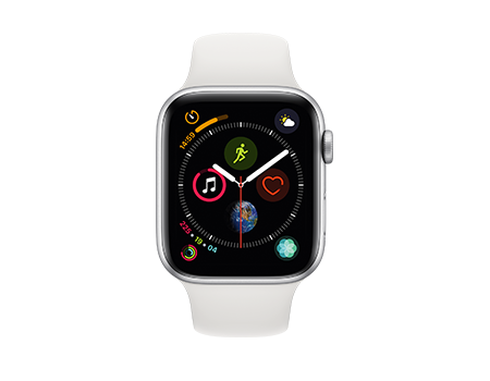 apple watch series 4 silver