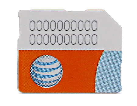 AT&T-SIM Card - Samsung Galaxy S5 Series-Black