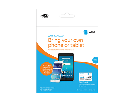 AT&T-SIM for GoPhone (Phone) devices-Orange