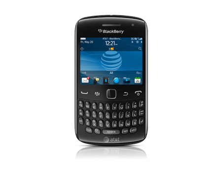 BlackBerry-Curve 9360-Piano Black
