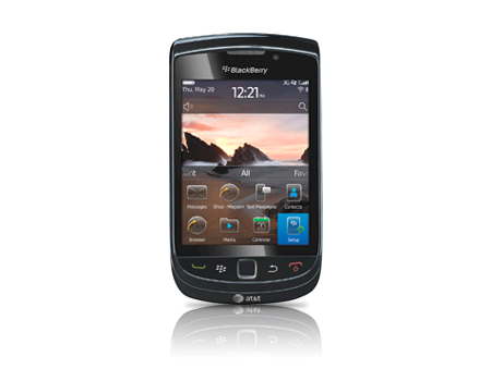 BlackBerry-Torch 9800-Charcoal