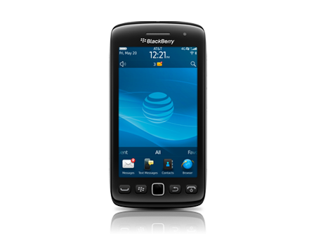 BlackBerry-Torch 9860-Shadow Grey