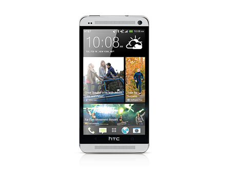 HTC One® 32GB - Glacial Silver (Certified Like-New)