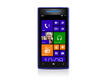 Windows® Phone 8X by HTC® - 8GB California Blue