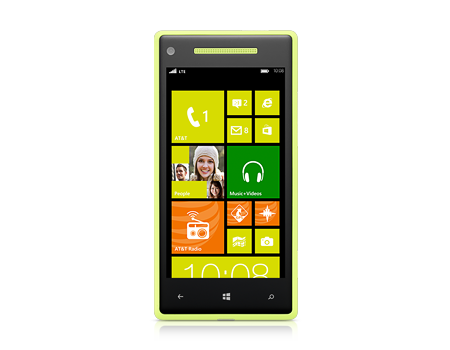 HTC-Windows Phone 8X 8GB-Limelight