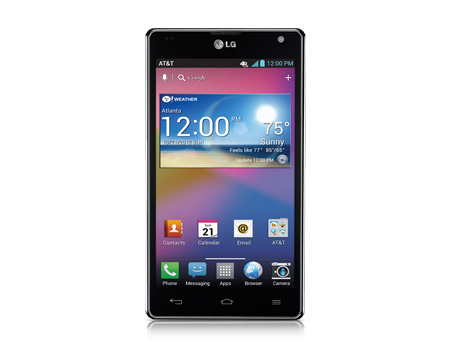 Lg Optimus G Black Cell Phone From At Amp T